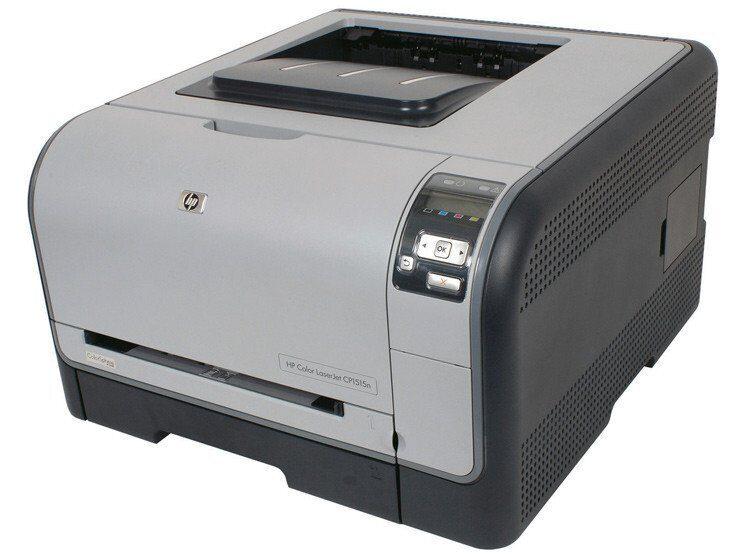 HP Color LaserJet CP1515n Printer-3