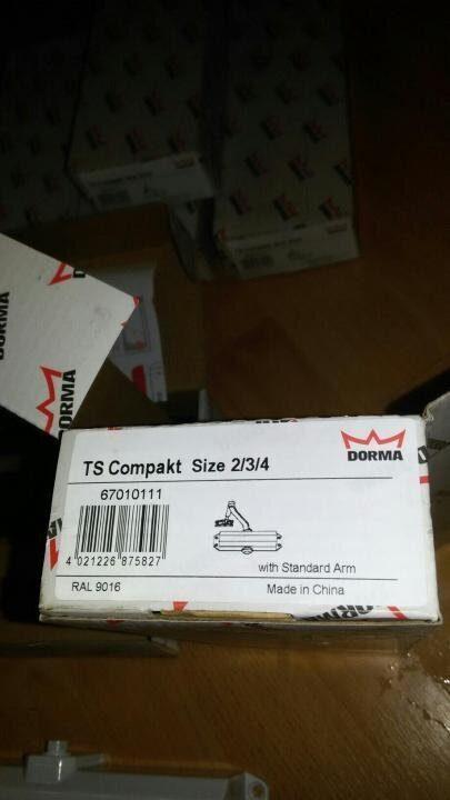 TS Compakt (белый) Доводчик